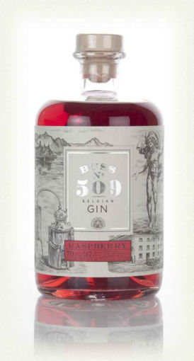 Slika BUSS N°509 RASPBERRY Belgium Flavor Gin Author Collection 40% Vol. 0,7 l