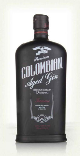 Slika Dictador Treasure Colombian Aged Gold Gin 43%  0,7
