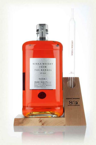 Slika Nikka Whisky From the Barrel 80th Anniversary Edition 51,4% 3 l + postolje sa ep
