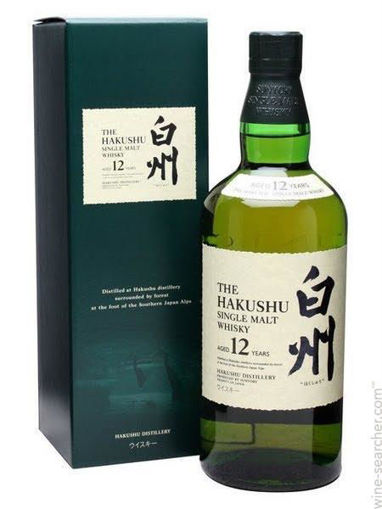 Slika Suntory Hakushu 12 YO Single Malt  43% 0,7 l