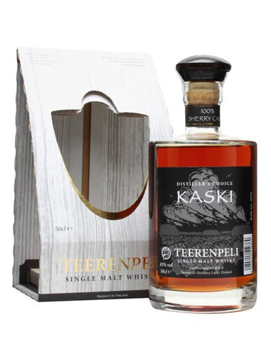 Slika Teerenpeli KASKI Distiller's Choice Sherry Cask + GB 43% Vol. 0,5 l