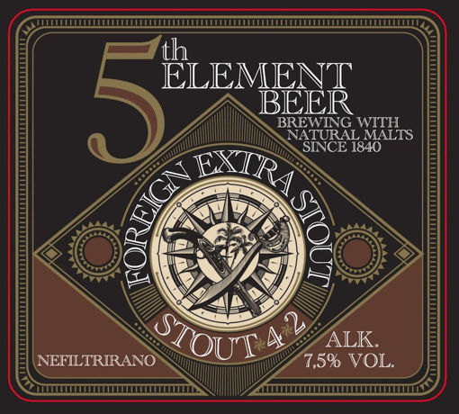 Slika 5. ELEMENT STOUT 7,5% 0,5 l