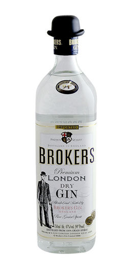 Slika Broker's Premium London Dry Gin 40% 0,7 l