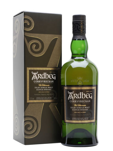 Slika Ardbeg CORRYVRECKAN Islay Single Malt Scotch Whisky 57,1% Vol. 0,7l in Giftbox
