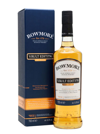 Slika Bowmore VAULT EDITION Islay Single Malt Scotch Whisky First Release 51,5% Vol. 0,7l in Giftbox