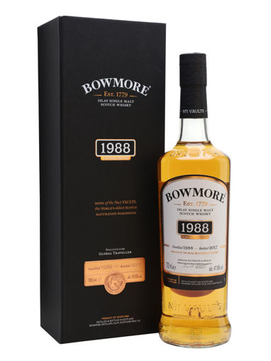 Slika Bowmore VINTAGE EDITION Islay Single Malt Scotch Whisky 1988 47,8% Vol. 0,7l in Giftbox