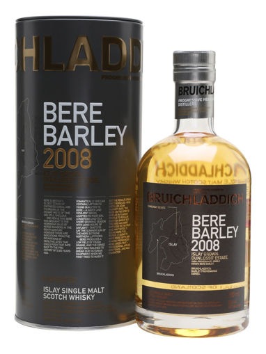 Slika Bruichladdich BERE BARLEY Islay Grown: Dunnlossit Estate 2008 50% Vol. 0,7l in Tinbox