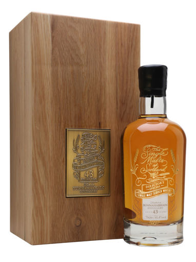 Slika Bunnahabhain 43 Years Old DIRECTOR'S SPECIAL Limithed Edition 41,4% Vol. 0,7l in Wooden case