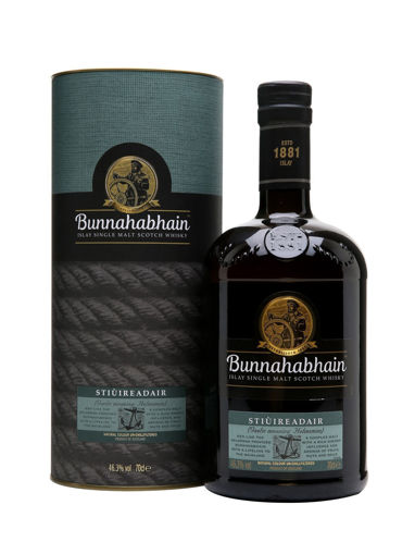 Slika Bunnahabhain STIÙIREADAIR Islay Single Malt Scotch Whisky 46,3% Vol. 0,7l in Giftbox