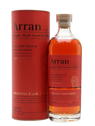 Slika Arran Single Malt AMARONE CASK FINISH 50% Vol. 0,7l in Giftbox