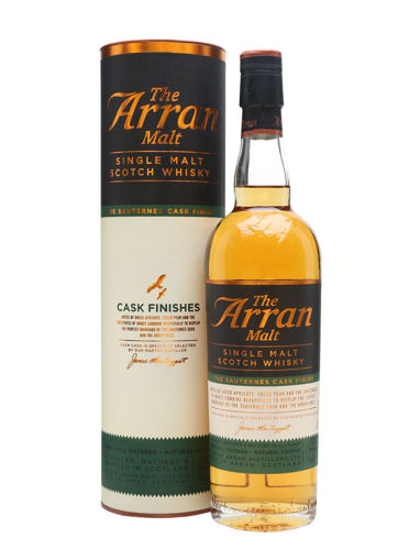 Slika The Arran Malt CASK FINISHES Single Malt THE SAUTERNES CASK FINISH - Old Design 50% Vol. 0,7l in Giftbox