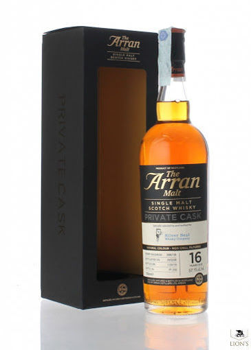 Slika The Arran Malt SILVER SEAL PRIVATE CASK 16 Years Old Single Malt Scotch Whisky 57,1% Vol. 0,7l in Giftbox