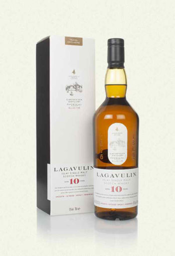Slika Lagavulin 10 Years Old  + GB 48% 0,7 l