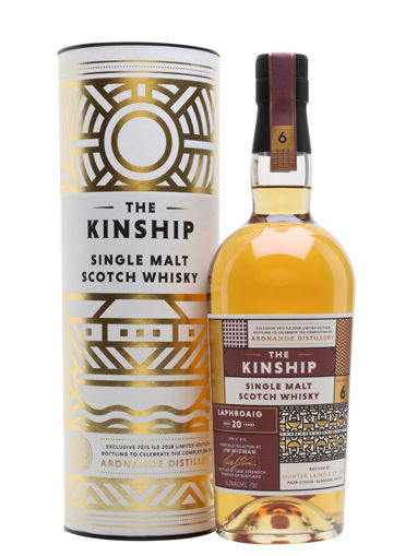 Slika Hunter Laing The Kinship LAPHROAIG 20 Years Old Single Malt Scotch Whisky 55,2% Vol. 0,7l