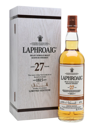 Slika Laphroaig 27 Years Old Limithed Edition 2017 41,7% Vol. 0,7l in Wooden case
