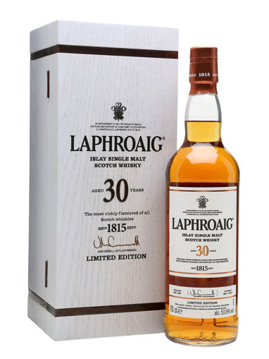 Slika Laphroaig 30 Years Old Limithed Edition 53,5% Vol. 0,7l in Wooden case