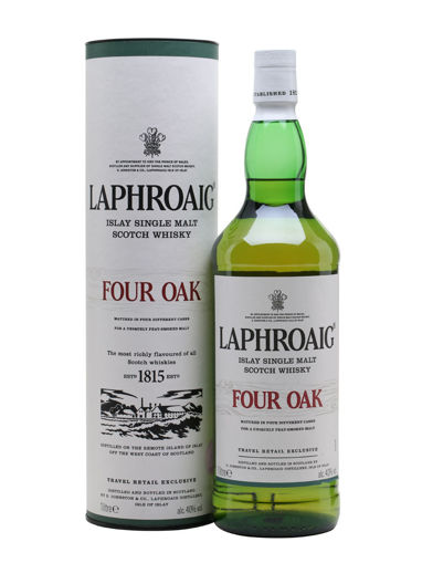 Slika Laphroaig FOUR OAK 40% Vol. 1l in Giftbox