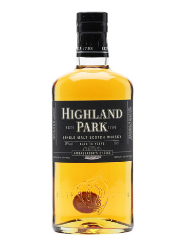 Slika Highland Park 10 Years Old AMBASSADOR'S CHOICE Single Malt Scotch Whisky 46% Vol. 0,7l