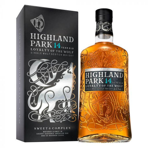Slika Highland Park 14 Years Old LOYALTY OF THE WOLF Single Malt Scotch Whisky 42,3% Vol. 1l in Giftbox