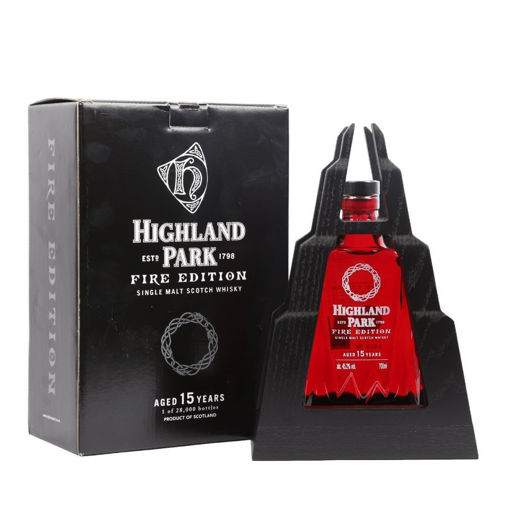Slika Highland Park 15 Years Old FIRE EDITION Single Malt Scotch Whisky 45,2% Vol. 0,7l in Giftbox