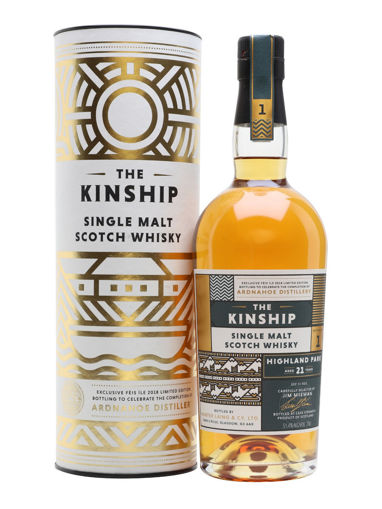 Slika Hunter Laing The Kinship HIGHLAND PARK 21 Years Old Single Malt Scotch Whisky 51,4% Vol. 0,7l