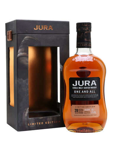 Slika Jura 20 Years Old ONE AND ALL Limithed Edition 51% Vol. 0,7l in Giftbox
