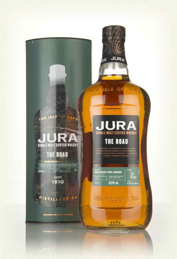 Slika Jura THE ROAD Single Malt Scotch Whisky 43,6% Vol. 1l in Giftbox