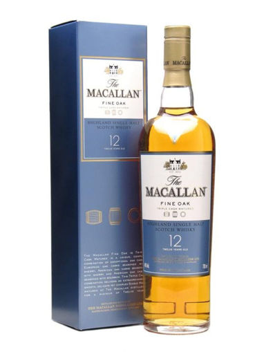 Slika The Macallan 12 Years Old FINE OAK Highland Single Malt Scotch Whisky 40% Vol. 0,7l in Giftbox