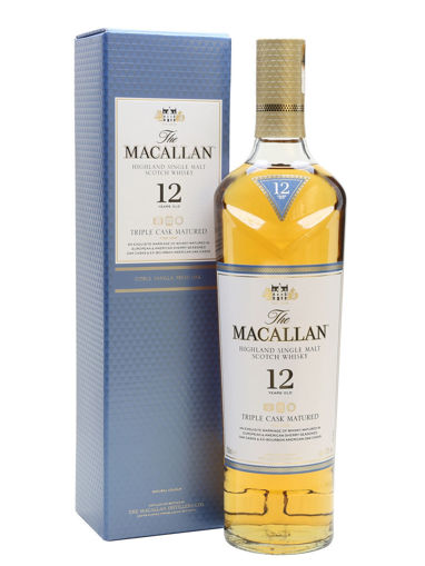 Slika The Macallan 12 Years Old TRIPLE CASK MATURED Highland Single Malt Scotch Whisky 40% Vol. 0,7l in Giftbox