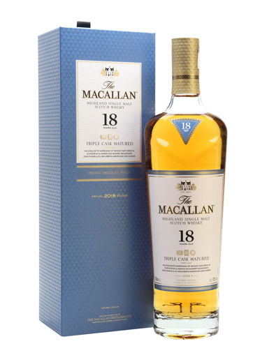 Slika The Macallan 18 Years Old TRIPLE CASK MATURED Highland Single Malt Scotch Whisky 43% Vol. 0,7l in Giftbox