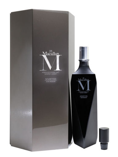 Slika The Macallan M Decanter Black Release 2018 44,8% Vol. 0,7l in Giftbox
