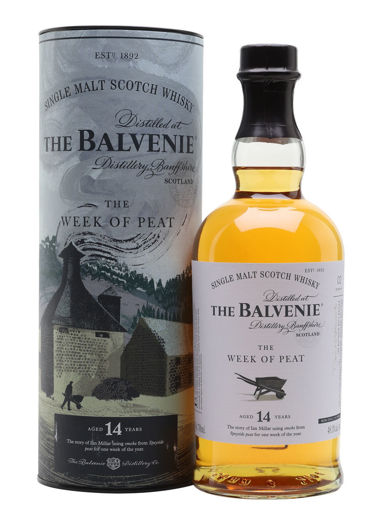 Slika The Balvenie 14 Years Old The WEEK OF PEAT 48,3% Vol. 0,7l in Giftbox