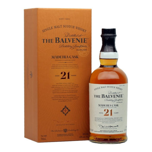 Slika The Balvenie 21 Years Old Madeira Cask 40% Vol. 0,7l in Giftbox