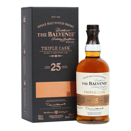 Slika The Balvenie 25 Years Old Triple Cask 40% Vol. 0,7l in Giftbox