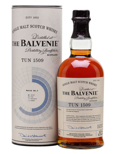 Slika The Balvenie TUN 1509 Single Malt Scotch Whisky Batch No. 4 51,7% Vol. 0,7l in Giftbox