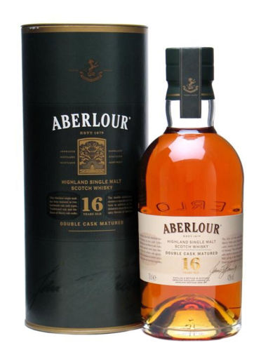 Slika Aberlour 16 Years Old DOUBLE CASK MATURED Speyside Single Malt Scotch Whisky 40% Vol. 0,7l in Giftbox