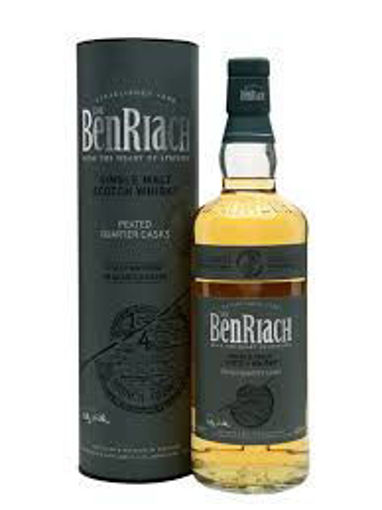 Slika The BenRiach PEATED QUARTER CASKS Single Malt Scotch Whisky 46% Vol. 0,7l in Giftbox