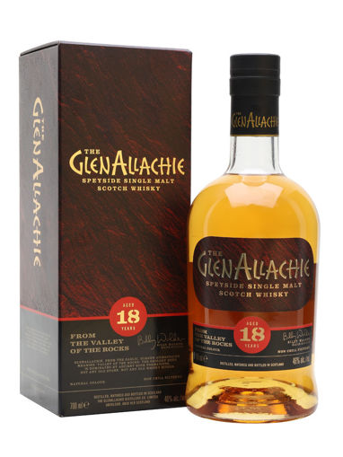 Slika The GlenAllachie 18 Years Old Speyside Single Malt Scotch Whisky 46% Vol. 0,7l in Giftbox