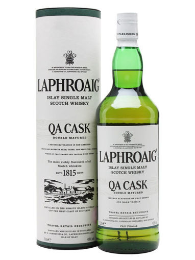 Slika Laphroaig QA Cask Double Matured 40% Vol. 1l in Giftbox