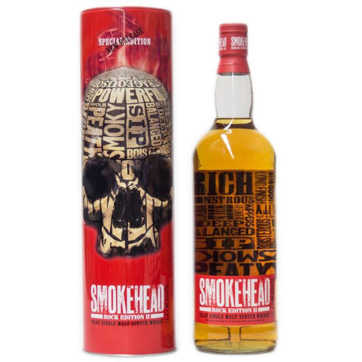 Slika Smokehead ROCK EDITION II Islay Single Malt Scotch Whisky 46,6% Vol. 1l in Tinbox