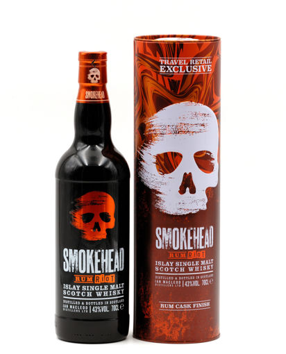 Slika Smokehead RUM RIOT Islay Single Malt Scotch Whisky 43% Vol. 0,7l in Tinbox