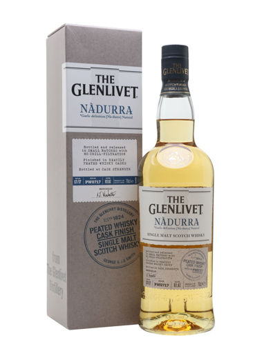 Slika The Glenlivet NÀDURRA Peated Whisky Cask Finish 48% Vol. 1l in Giftbox