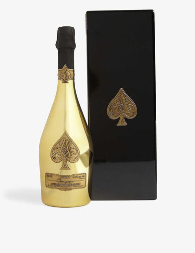 Slika Armand de Brignac Ace of Spades Champagne Brut Gold 12,5% Vol. 1,5l in Wooden case