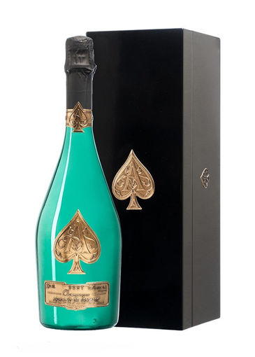 Slika Armand de Brignac Ace of Spades Champagne Brut Green Edition 2019 12,5% Vol. 0,75l in Wooden case