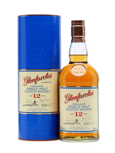Slika Glenfarclas 12 Years Old Highland Single Malt Scotch Whisky 43% Vol. 0,7l in Giftbox