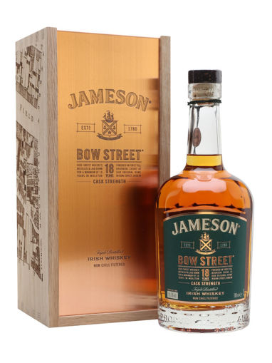 Slika Jameson BOW STREET 18 Years Old Triple Distilled Irish Whiskey CASK STRENGTH 55,1% Vol. 0,7l in Giftbox