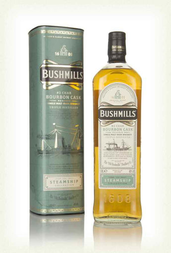 Slika Bushmills CHAR BOURBON CASK Reserve The Steamship Collection 40% Vol. 1l in Giftbox