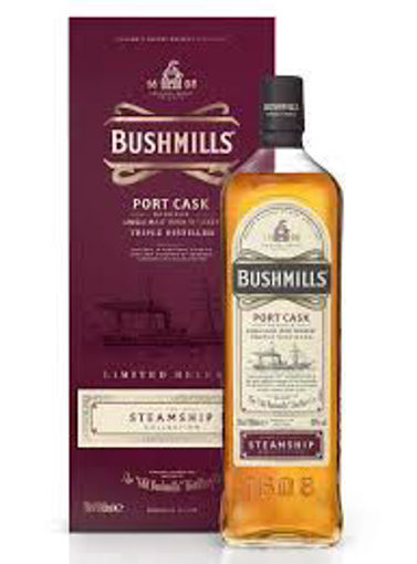 Slika Bushmills PORT CASK Reserve The Steamship Collection 40% Vol. 0,7l in Giftbox