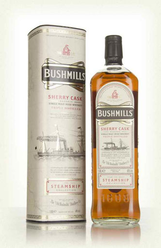Slika Bushmills SHERRY CASK Reserve The Steamship Collection 40% Vol. 1l in Giftbox