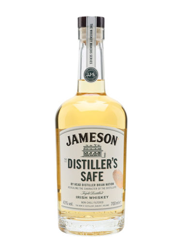 Slika Jameson The DISTILLER'S SAFE Triple Distilled Irish Whiskey 43% Vol. 0,7l
